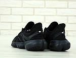Мужские кроссовки Nike Free Run (черные), фото 4