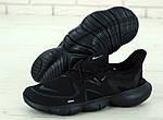 Мужские кроссовки Nike Free Run (черные), фото 5