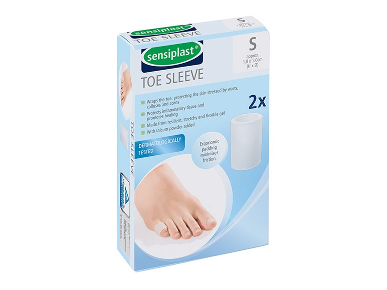 Пластырь медицинский Sensiplast Toe sleeve S