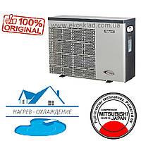 Тепловой инверторный насос для дома Fairland IPHC30 (тепло/холод, 12.1кВт) нагрев - охлаждение