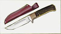 Нож нескладной охотничий 2304 YBJ кость-быка,охотничьи ножи,товары для рыбалки и охоты,оригинал