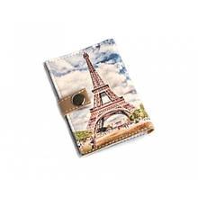 Обложка на ID паспорт пластиковый Париж