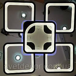 Люстра светодиодная потолочная Led 8060/4+1 dimmer с пультом