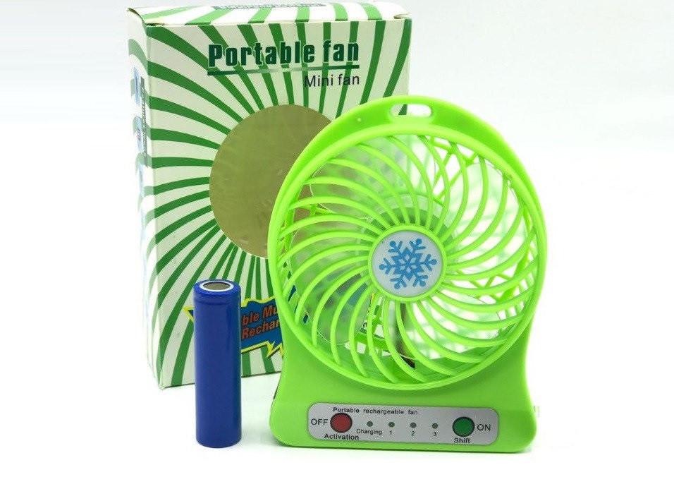 Вентилятор аккумуляторный настольный F95B