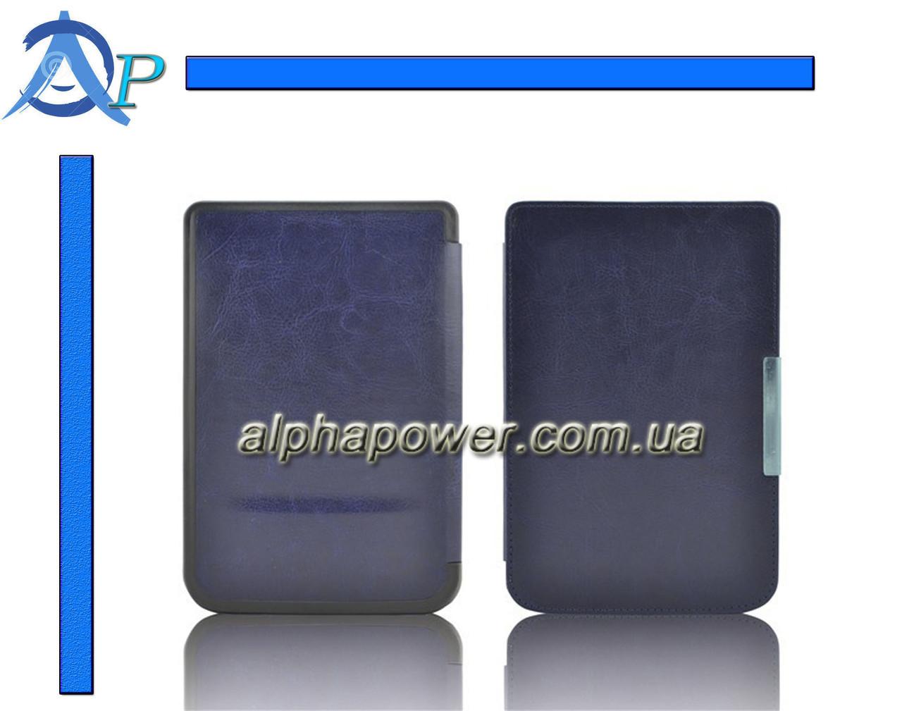Обложка (чехол) для электронной книги PocketBook Touch 622 / Touch Lux 623 синий