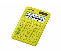 Калькулятор CASIO  бухг. MS-20UC-YG-S-ES салатовый (149,5*105мм)