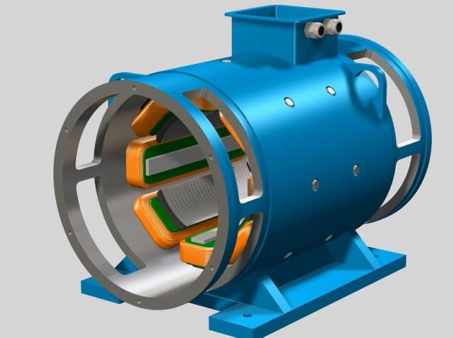 Коллекторный двигатель постоянного тока