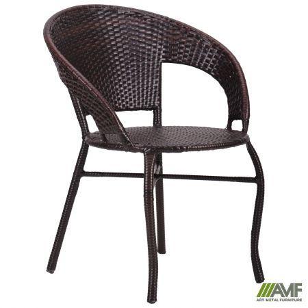 "Крісло Catalina ротанг коричневий ТМ ""AMF"""