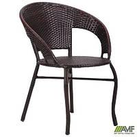 """Кресло Catalina ротанг коричневый ТМ """"AMF"""""""