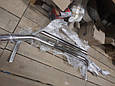 Защитная дуга по бамперу Volkswagen Touareg (2010 -...) двойная, фото 3