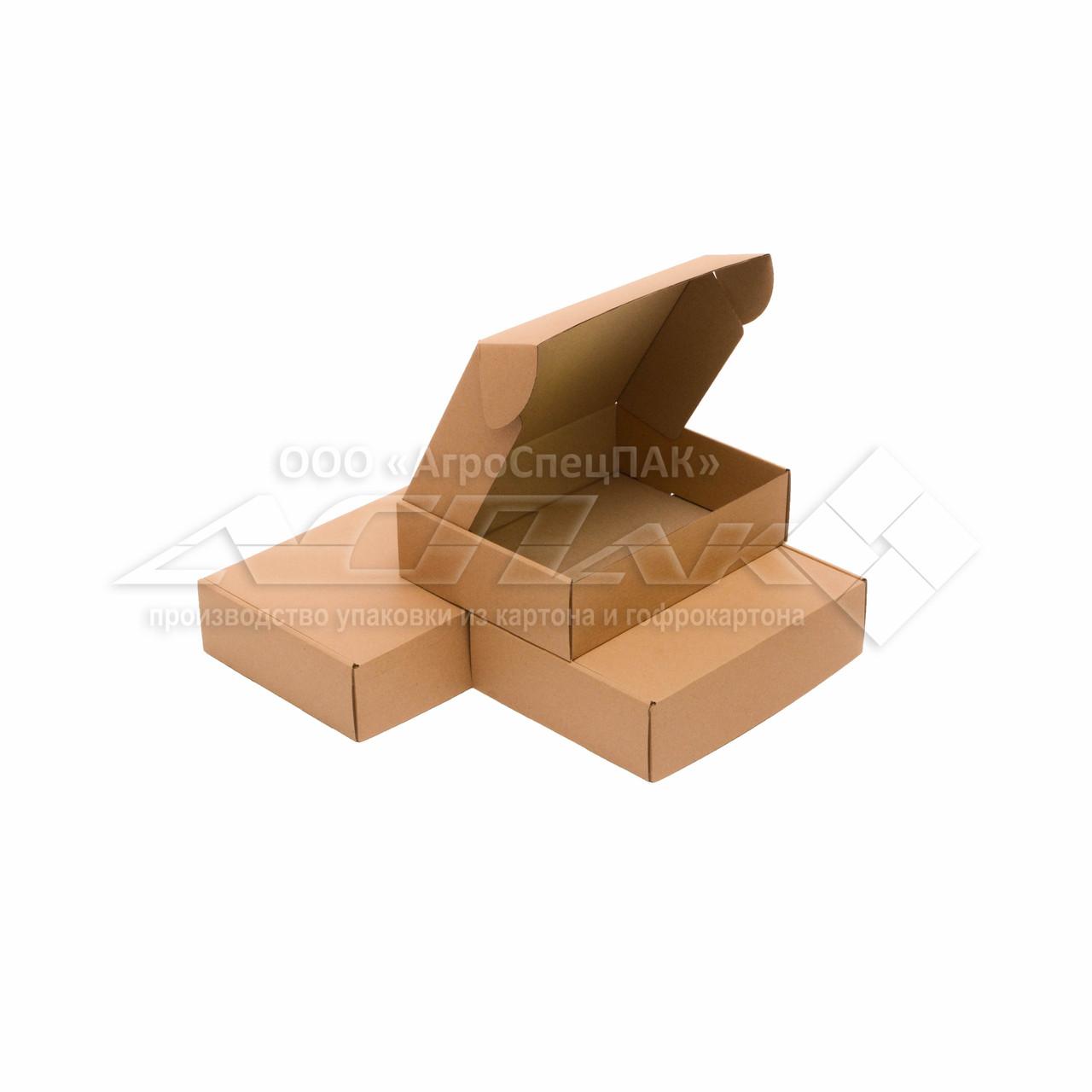 Самосборные коробки 245*185*65 бурые