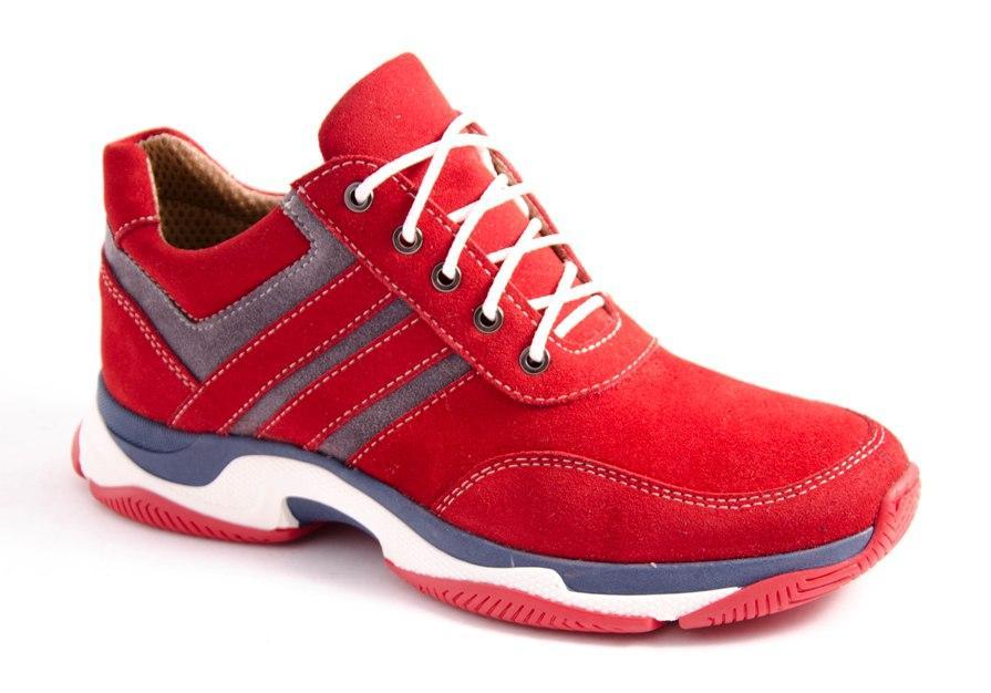 Кроссовки женские красные Romani 1273512 р.36-41