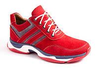 Кроссовки женские красные Romani 1273512 р.36-41, фото 1