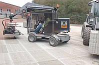 Укладка тротуарной плитки, установка бортового камня, планировка грунта