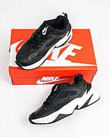 Женские кроссовки Nike MK2 Tekno Black (Релика ААА+)