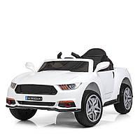 Детский электромобиль Машина «Ford Mustang» M 3969EBLR-1 Белый