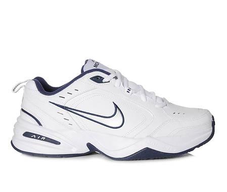 """Кроссовки Nike Air Monarch """"Белые\Синие"""", фото 2"""