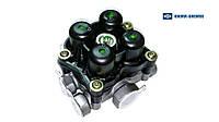 Четырехконтурный клапан VOLVO FH, FH 12, FH 16, FM 08.93-  AE4604 Knorr-Bremse, фото 1