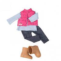 3948857e26294c Набір одягу для ляльок Our Generation Жилет з брюками BD30209Z, Оур  Дженерейшн