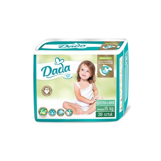 Подгузники Dada Extra Soft 6 (15+ кг), 38шт