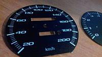Шкалы приборов Volvo 240 прозрачные, фото 1