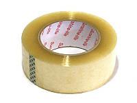 Скотч упаковочный канцелярский прозрачный односторонний в рулоне 1000м пр-во Sunshine-life