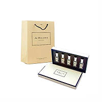 Подарочный набор Jo Malone Cologne с пакетом №1: 5 ароматов по 9 мл (копия премиум качества)