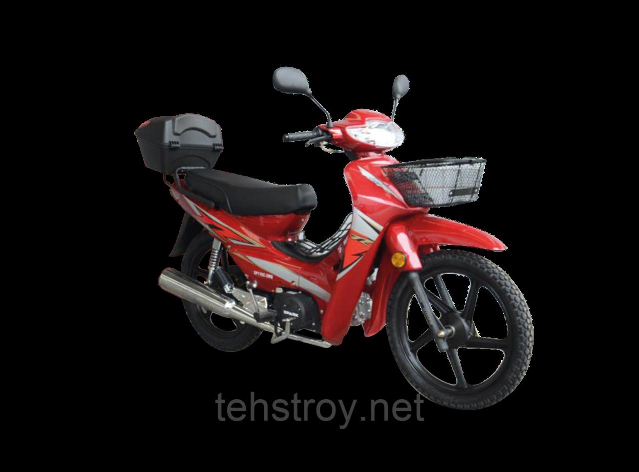 Мотоцикл SPARK SP110C-3WQ (красный,синий) + ДОСТАВКА бесплатно