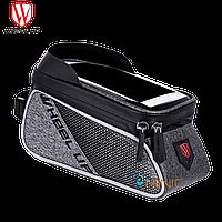 """Велосипедная сумка на раму WHEEL UP 020-1 для смартфонов до 6"""""""