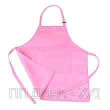 Фартук для детей розовый