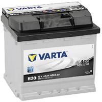 Аккумулятор автомобильный VARTA BLACK DYNAMIC 45AH L+ 400A (B20)