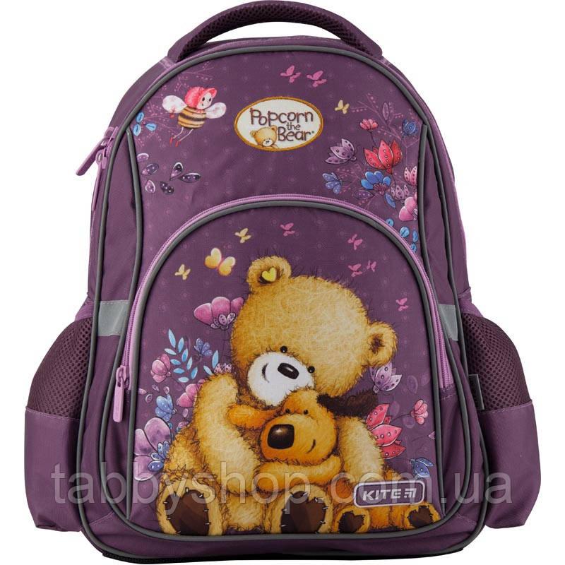 Рюкзак школьный ортопедический KITE Education 518 Popcorn the Bear