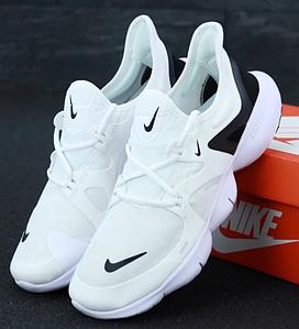 Мужские Кроссовки Nike Free Run RN 5.0 Найк Фри Ран Белые