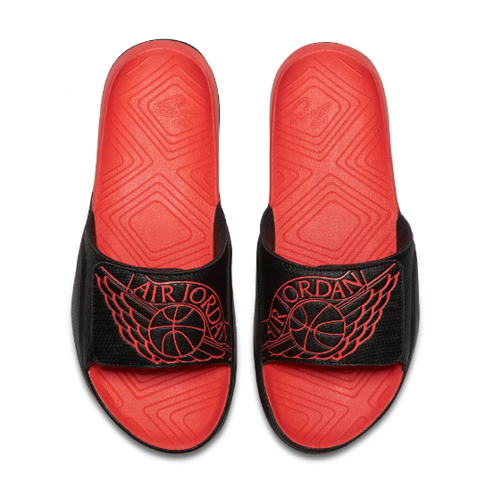 Шлепанцы мужские JORDAN SUPER FLY TEAM SLIDE Red