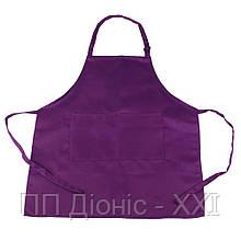 Фартук для детей фиолетовый