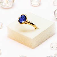 Золотое кольцо Сапфир