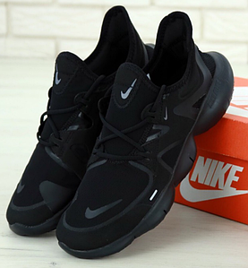 Мужские Кроссовки Nike Free Run RN 5.0 Найк Фри Ран Черные