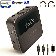 Беспроводной аудио передатчик/приемник 3,5 мм HD Bluetooth 5,0 для автомобиля, фото 1