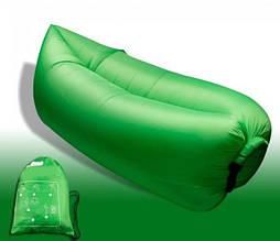 ХИТ!!! Надувной диван кресло мешок Ламзак (Lamzak) Зеленый