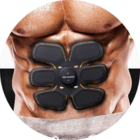 Пояс стимулятор мышц EMS TRAINER, миостимулятор, тренажер для пресса, тренажер бабочка, стимулятор
