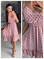 ef70e35a3e4 Красное в белый горох платье оптом в категории платья женские в ...