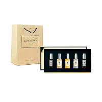 Подарочный набор Jo Malone Cologne с пакетом №3: 5 ароматов по 9 мл (копия премиум качества)