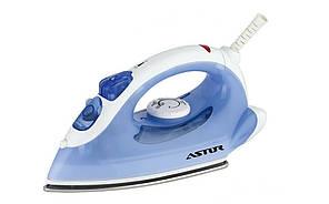Утюг бытовой паровой Astor SG 1668 Blue/white регулятор температуры мощность 2000 вт