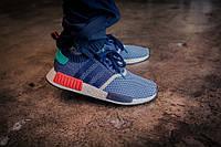 "Кроссовки Adidas x Packer NMD Primeknit ""Blue"", фото 1"