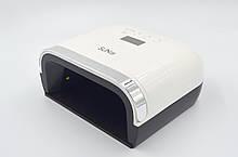 LED + UV лампа для сушки гель лаков и гелей Sun 3X White 48 Вт (YQ3XSUN3X)