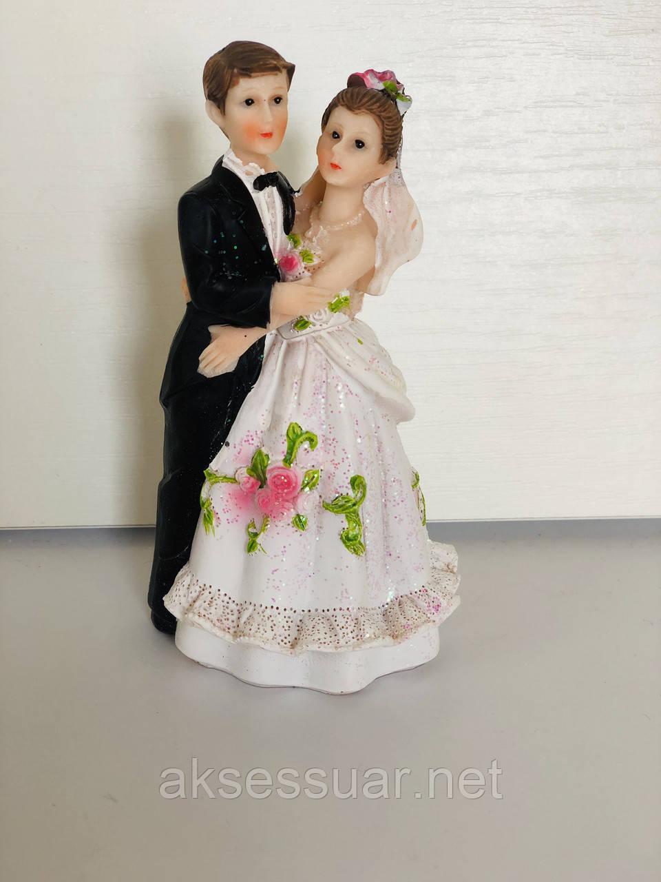 Фігурка на весільний торт Наречений Наречена