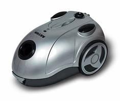 Пылесос 1800Вт ASTOR ZW 502 серый турбощетка мешковой 1400-1800 Вт регулятор для сухой уборки