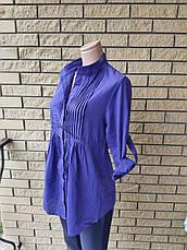 Блузка, рубашка женская коттоновая NN, фото 3