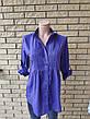 Блузка, рубашка женская коттоновая NN, фото 2