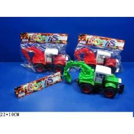 Трактор инерционный, 3 вида, 2 цвета, пластиковый, 3368-1